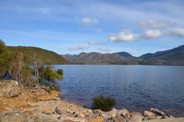 Lake Burbury Campground Tasmania