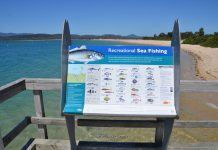 fishing port sorell jetty tasmania squeaking point