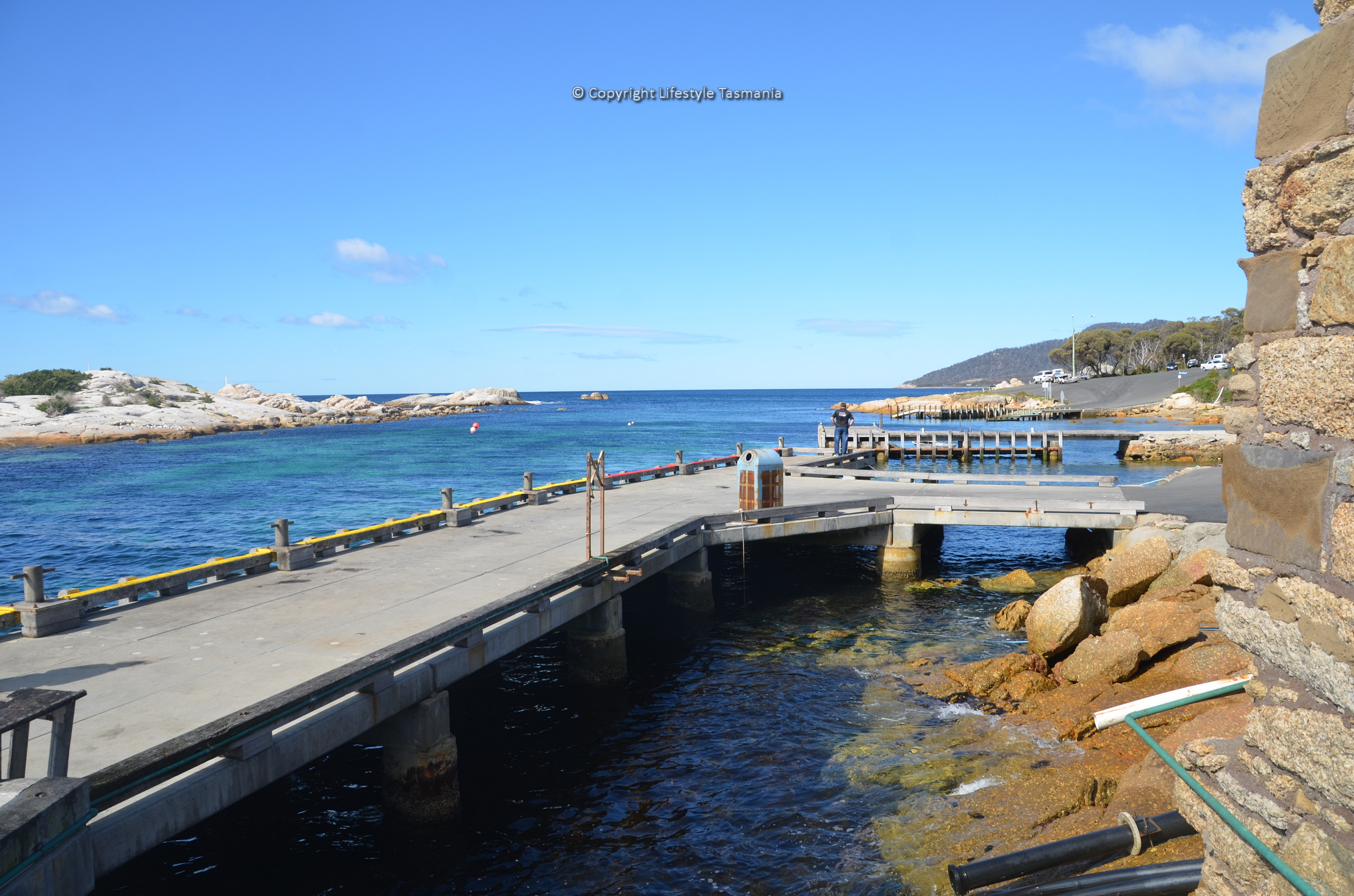 jetty fishing bicheno tasmania